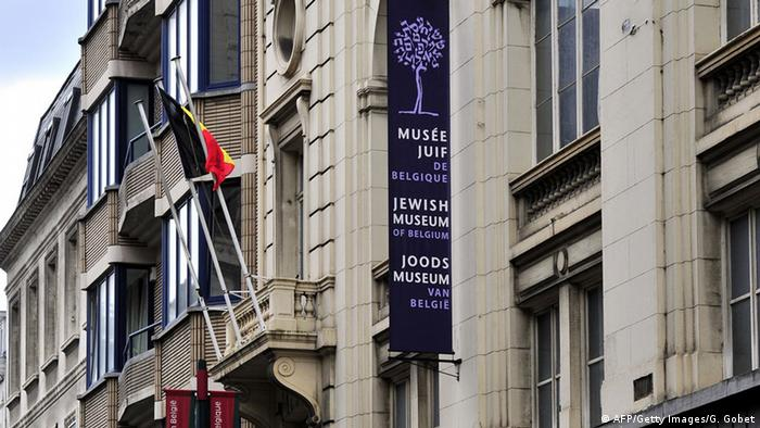 View of the Jewish Museum of Brussels taken on May 25, 2014, where a deadly shooting took place the day before. GEORGES GOBET/AFP/Getty Images)