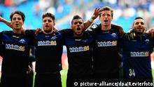 Deutschland Fußball Bundesliga Gruppenbild Hamburger SV