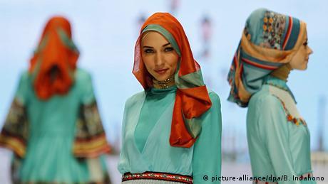 Indonesien Mode Messe 2014 in Jakarta Shafira