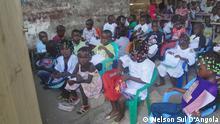 Auf dem Bild: Schulunterricht in Cabinda, Angola. Foto: Nelson Sul D'Angola am 10.09.2014 in Cabinda, Angola