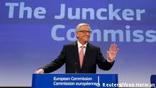 Jean-Claude Juncker stellet die neue Kommission vor 10.09.2014