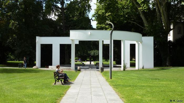 Metzlerpark in Frankfurt am Main