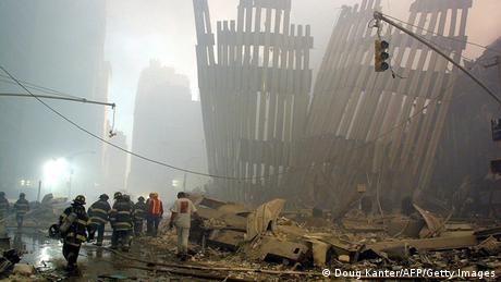 11 de Setembro de 2001 - escombros do World Trade Center