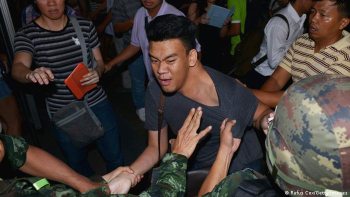 Thailand Soldaten Festnahme 23.05.2014 Bangkok