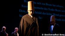 Tanzende Derwische beim Projekt Passio - Compassio, das beim Bonner Beethovenfest aufgeführt wird. 2014 ***Das Pressebild darf nur in Zusammenhang mit einer Berichterstattung über das Bonner Beethovenfest 2014 verwendet werden*** Foto Beethovenfest Bonn