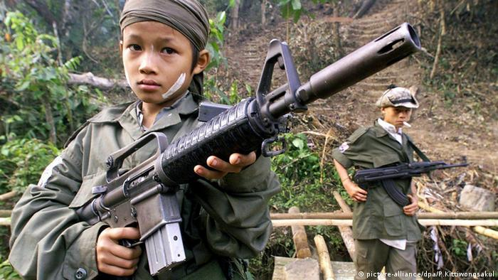 Kindersoldaten in Myanmar