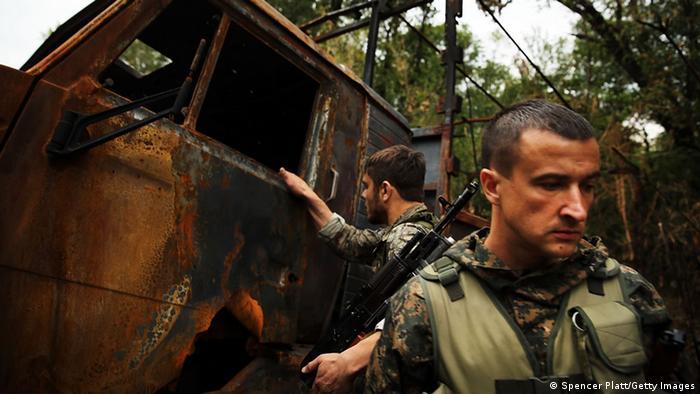 Separatists in eastern Ukraine