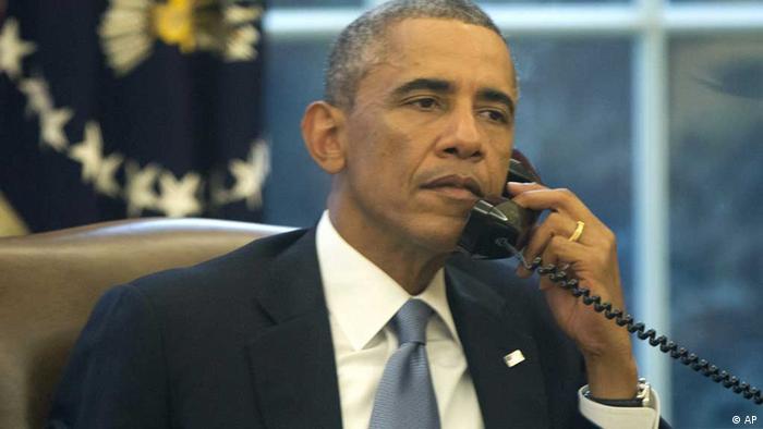 obama präsident usa telefon