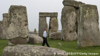 Das Stonehenge-Monument (Foto: SAUL LOEB/AFP/Getty Images)