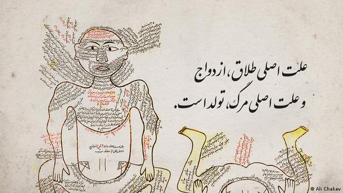 Persische Karikaturen (Ali Chakav)