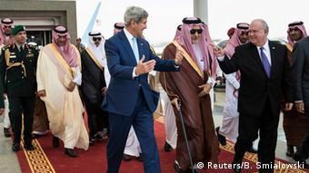 Saudi Arabien John Kerry zu Besuch in Jeddah 11.09.2014
