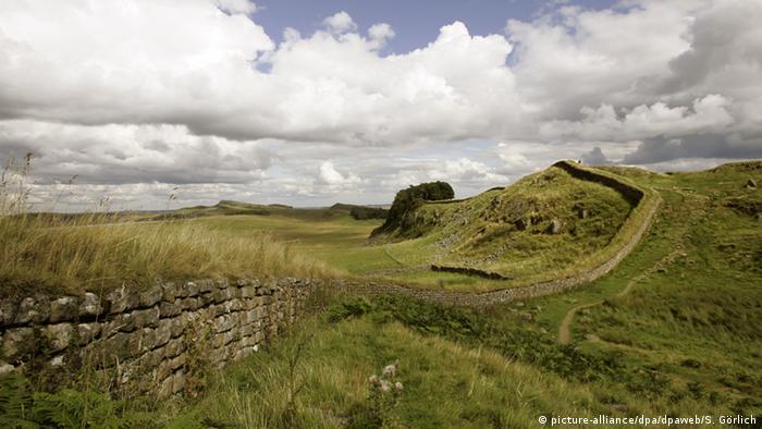Hadrianswall in Großbritannien