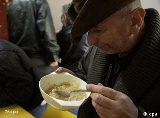 Is offering pork soup to the homeless and hungry offensive?