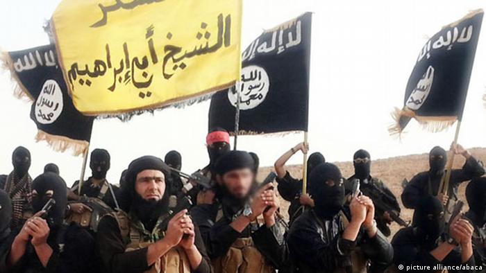 Islamischer Staat Propaganda NEUZUSCHNITT (picture alliance/abaca)