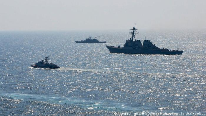 NATO-Manöver Sea Breeze 2014