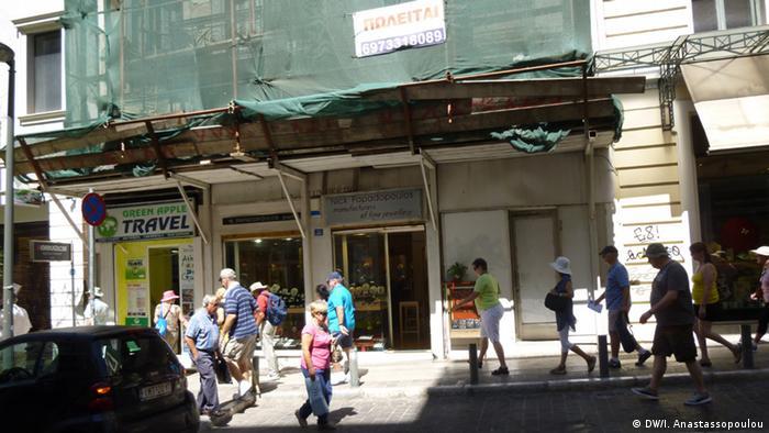 Athen Immobilien (DW/I. Anastassopoulou)