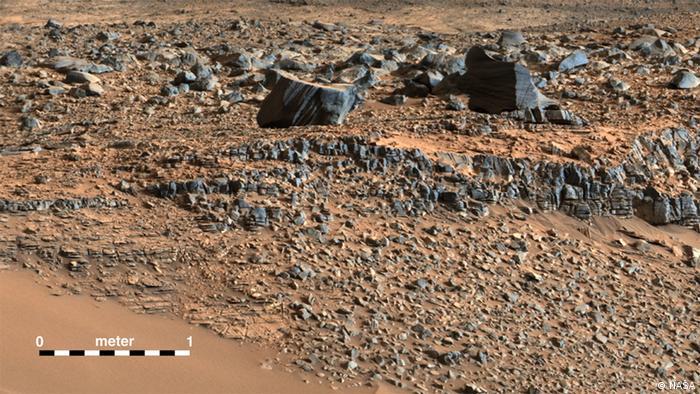 Mars Aufnahme NASA
