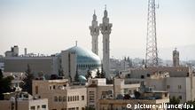 Stadtansicht Amman Moschee