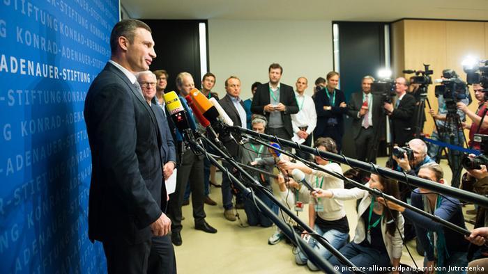 Виталий Кличко в Берлине