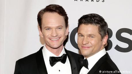 Neil Patrick Harris and David Burtka (picture-alliance/dpa)