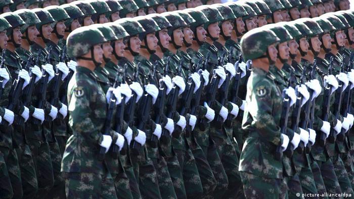 Symbolbild China Militär Soldaten