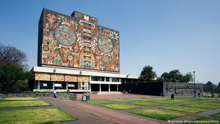 La Universidad Nacional Autonoma de México (UNAM), en Ciudad de México.