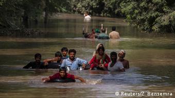 Pakistan Überschwemmung 13.09.2014