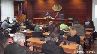 Mazedonien Gemeinderat in Gostivar