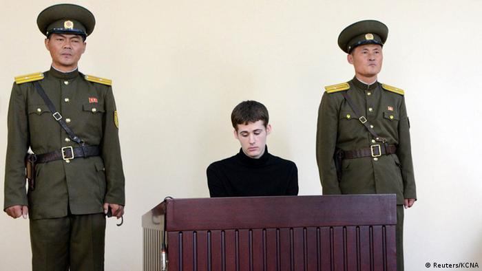 Matthew Miller (Reuters/KCNA)