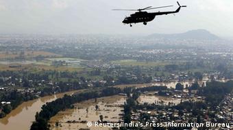 Indien Überschwemmung 13.09.2014