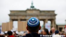 Demonstration gegen Antisemitismus in Berlin 14.09.2014