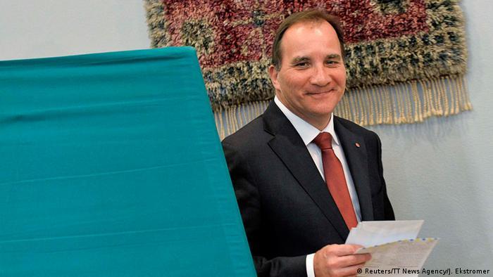 Der Herausforderer: Gewerkschafter Stefan Löfven, der Spitzenkandidat der Sozialdemokraten