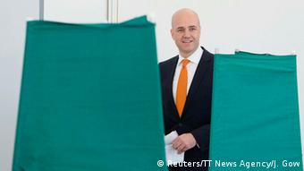 Schwedens amtierender Ministerpräsident Frederik Reinfeldt