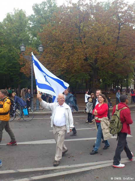 Manifestación contra el antisemitismo en Alemania