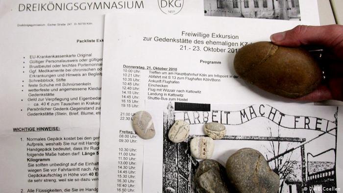 Symbolbild zum Thema Schülerreisen nach KZ-Auschwitz nach Polen und Zeitzeugengespräche