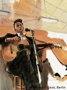 Reinhard Kleist Comic Johnny Cash