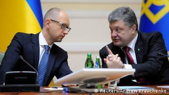 Poroschenko und Jazenjuk 10.09.2014