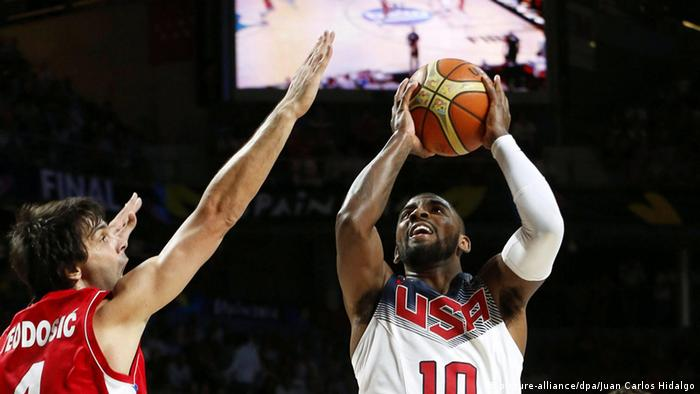 FIBA Basketball World Cup Finale USA gegen Serbien 2014