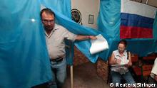 Regionalwahlen in Russland (Wahllokal)