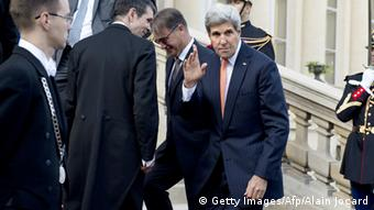 US-Außenminister John Kerry in Paris, 15.09.2014 (Foto: AFPG / Getty Images)