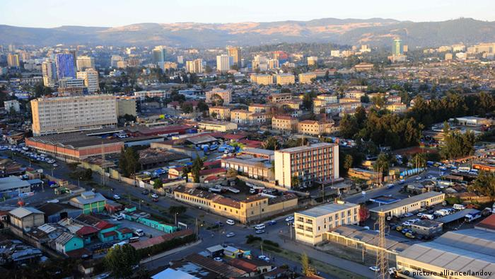 Archive image of Addis Ababa, capital of Ethiopia