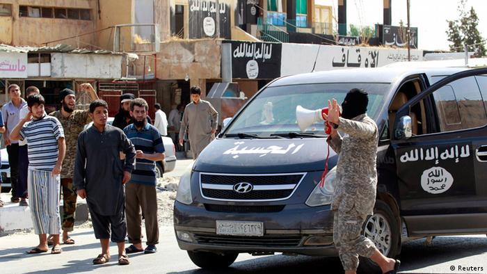 IS Symbole in Irak