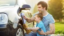 Symbolbild Auto waschen