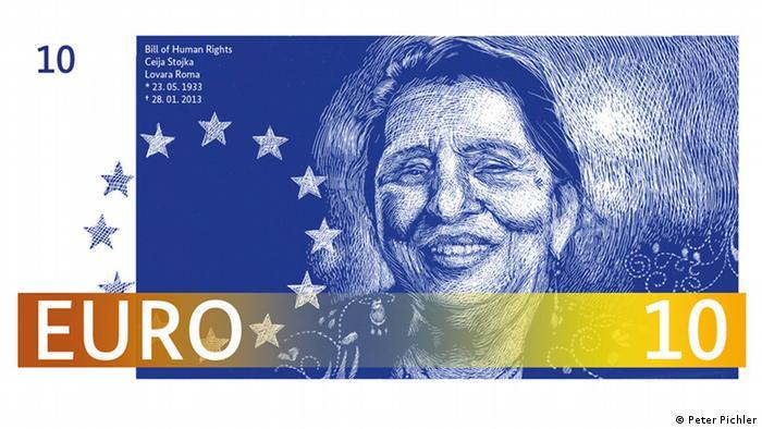 New Euro Design 10 Euro Schein Peter Pichler