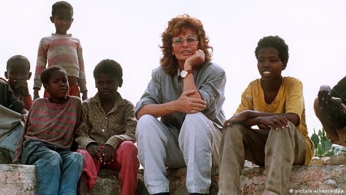 Sophia Loren na Somalia