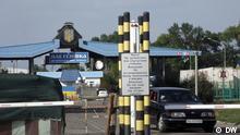 Ukraine Russland Grenze Ukrainischer Grenzposten Pletenewka