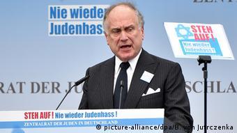 Deutschland Kundgebung gegen Judenhass Jüdischer Weltkongress in Berlin Ronald S. Lauder