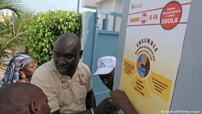 Разъяснительная работа о лихорадке Эбола в Сенегале