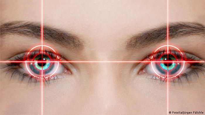 Augenlaser Symbolbild
