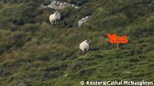 Schottland Unabhängigkeitsbewegung Sezession Yes